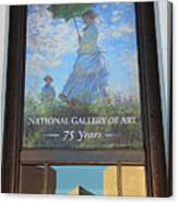 The National Gallery Of Art Is 75 Years Old Canvas Print