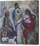 The Nativity Of The Angels Canvas Print