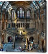 The Natural History Museum London Uk Canvas Print