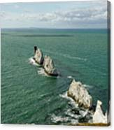 The Needles - Isle Of Wight Canvas Print