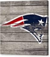 The New England Patriots 3c Canvas Print