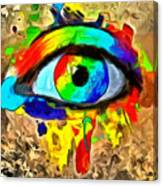 The New Eye Of Horus Canvas Print