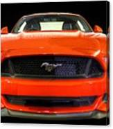 The New Mustang Canvas Print