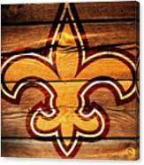 The New Orleans Saints 3b Canvas Print