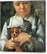 The New Pet Canvas Print