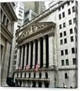 The New York Stock Exchange Canvas Print