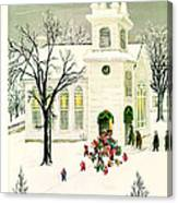 The New Yorker Cover - December 18th, 1948 Canvas Print