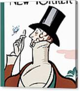 New Yorker February 21st, 1925 Canvas Print