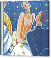 The New Yorker Cover - July 23rd, 1927 Canvas Print