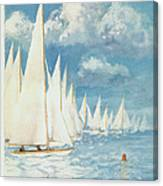 The New Yorker Cover - June 13th, 1959 Canvas Print