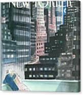 The New Yorker Cover - May 30th, 1988 Canvas Print