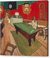 The Night Cafe In Arles Canvas Print
