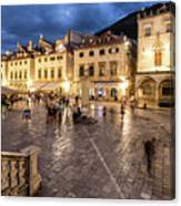 The Nights Of Dubrovnik Canvas Print