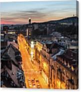 The Nights Of Sarajevo Canvas Print