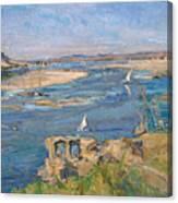 The Nile Near Aswan Canvas Print