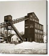 The Northwest Coal Company Breaker Eynon Pennsylvania 1971 Canvas Print