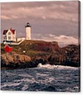 The Nubble Lighthouse  Canvas Print