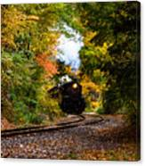 The Number 40 Rounding The Bend Canvas Print