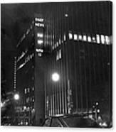 The Ny Daily News Building Canvas Print