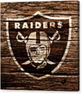 The Oakland Raiders 1e Canvas Print