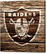 The Oakland Raiders 1f Canvas Print