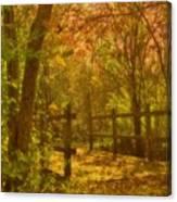 The Oakwood Bridge Canvas Print