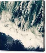 The Ocean Roars Canvas Print