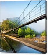 The Ocoee River Dam Canvas Print