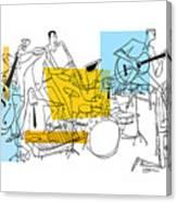 The Octet Canvas Print