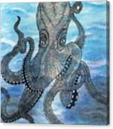 The Octopus 3 Canvas Print