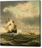 The Olbers At Sea Canvas Print