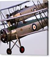 The Old Aircraft Canvas Print