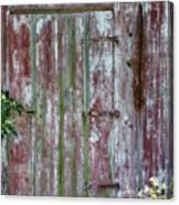The Old Barn Door Canvas Print