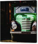 The Old Beer Truck Canvas Print