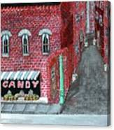 The Old Brick Candy Store Canvas Print