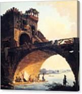 The Old Bridge Canvas Print