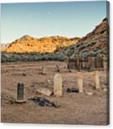 The Old Cemetary Canvas Print