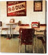 The Old Diner Canvas Print
