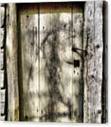 The Old Door Canvas Print
