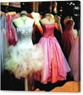 The Old Dress  Shop Canvas Print