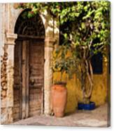 The Old Entrance Canvas Print
