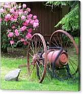The Old Fire Pumper Canvas Print