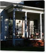 The Old Front Porch Canvas Print