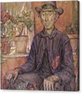 The Old Gardener 1921 Canvas Print