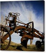 The Old Grader Canvas Print