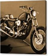 The Old Harley Canvas Print