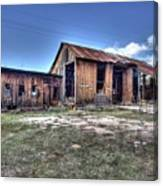 The Old Haunted Barn Canvas Print