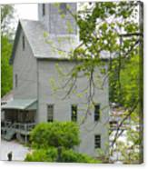 The Old Kingsley Mill Canvas Print