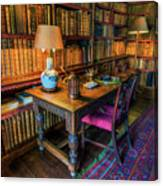 The Old Library Canvas Print