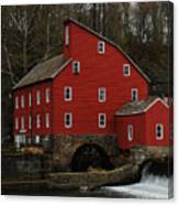 The Old Mill In Clinton Nj Canvas Print